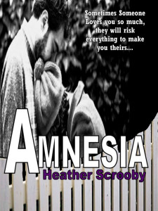 Amnesia a romance novel by Heather Scrooby